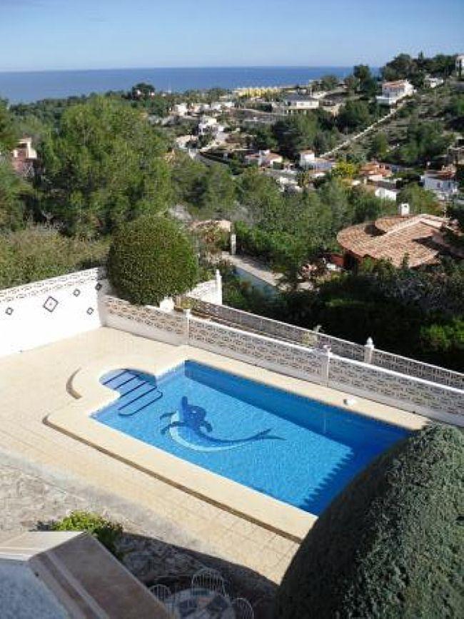 Villas in DENIA Villa for sale in DENIA with sea and mountain views