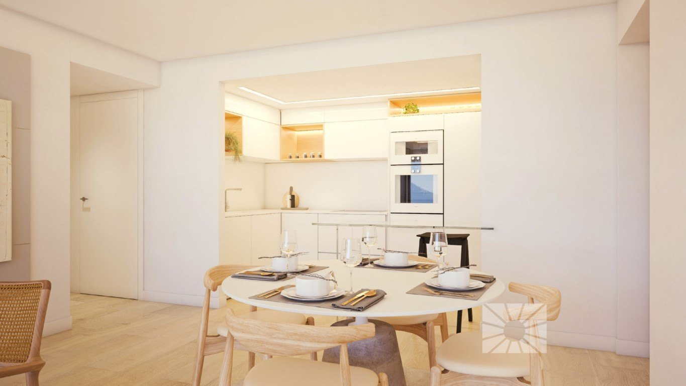 Apartment in Pedreguer New construction apartment with sea views in La Sella Golf
