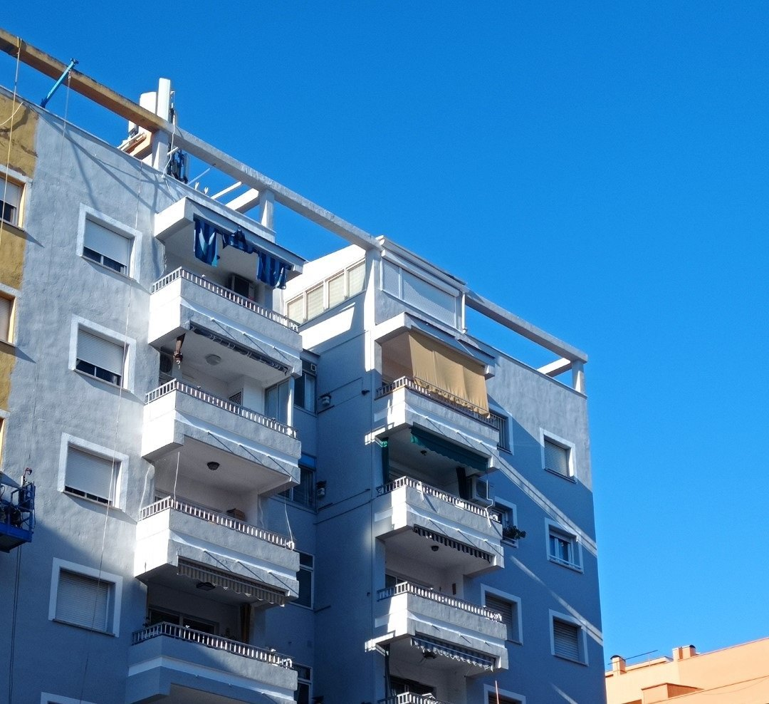 Town flats in DENIA Flat in Denia with 3 bedrooms and large terrace