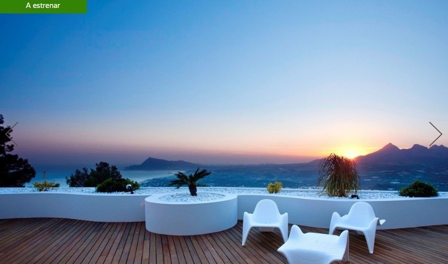 Penthouses in Altea New construction apartment with sea views